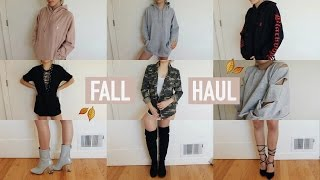 TRY-ON FALL + WINTER CLOTHING HAUL 2016 | Mel Joy