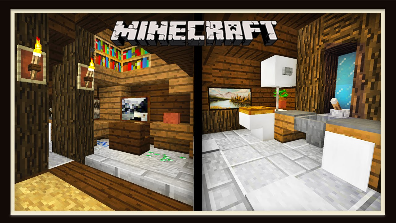 Minecraft: Finishing The House With Three Interior Designs (Scarland ...