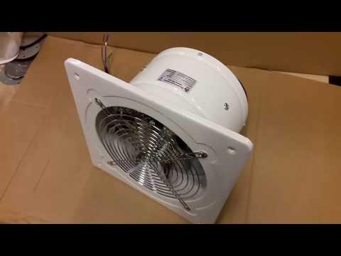 Мощный металлический вытяжной вентилятор PRO-200