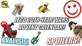 LETS CHECKOUT!! 2018 LEGO STAR WARS ADVENT CALENDAR 75213 SET IMAGES!!
