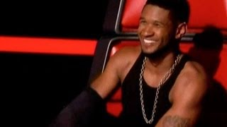 USHER TAKES SHIRT OFF & CHRISTINA AGUILERA RETURN