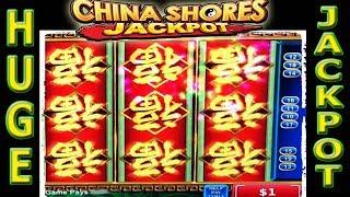 ⭐️ HUGE JACKPOT HANDPAY ⭐️ REDEMPTION ON CHINA SHORES HIGH LIMIT SLOT MACHINE