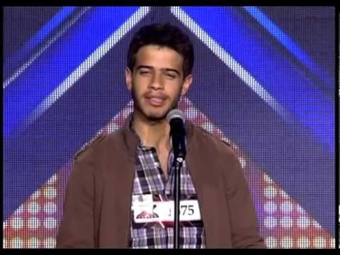 #تجارب الاداء ادهم نابلسي صاحب الاداء الرائع- The X Factor 2013
