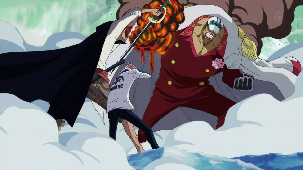 SHANKS VS AKAINU || SH...