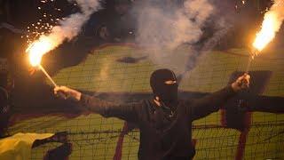 Трибуна тульских фанатов. Арсенал-спартак(3-0)