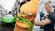 Burnouts, Biceps & Burgers - Ep.8   Ft. JE LDNM & Lamborghini Huracan
