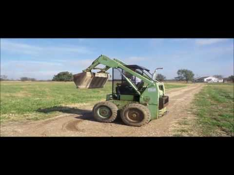 Mustang 1000 skid steer for sale | no-reserve Internet auction November 30,  2016