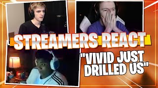 -STREAMERS REACT- to me ❗️DESTROYING❗️ them