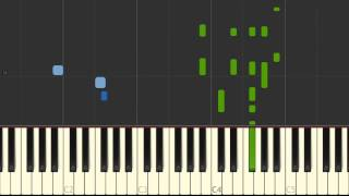 Download Empire State of Mind, pt 2 Alicia Keys - solo piano tutorial Synthesia MP3 song and Music Video