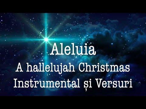 Aleluia // A Hallelujah Christmas // Instrumental și Versuri