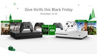 Xbox Black Friday Deals - $399 Xbox One X, $199 Xbox One S, $1 Xbox Game Pass and MUCH MORE!!