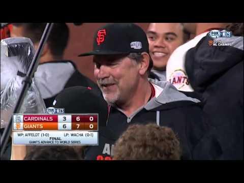 2014 NLCS: Travis Ishikawa Walkoff Home Run Sends Giants To WS