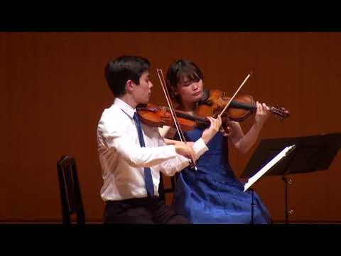 MMCJ Yokohama 2017, Student's Chamber Music - Haydn: String Quartet in C major, op.54-2 HobIII:57
