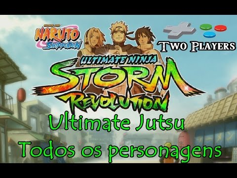 Naruto Ultimate Ninja Storm Revolution - Todos os Ultimate Jutsu 1080p HD.
