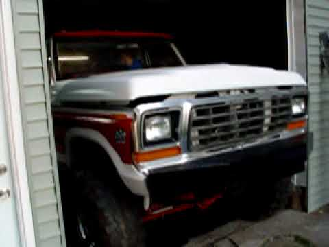 1978 Ford Truck >> 1978 ford truck 400 engine running - YouTube