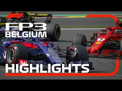 2018 Belgian Grand Prix: FP3 Highlights