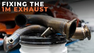 It's time to fix this exhaust, on start up it just blasts you with ...