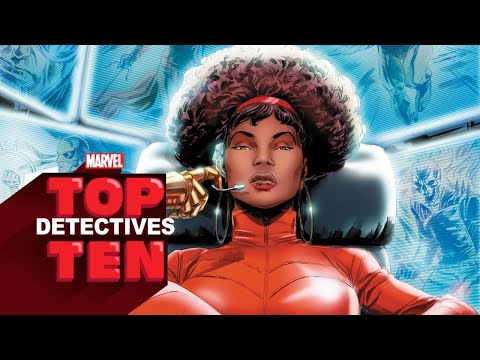 Top 10 Detectives -- Marvel Top 10s