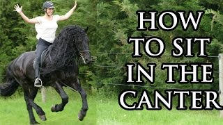 How to Sit in the Canter (Maintaing good balance) - YRS TV Episode 46
