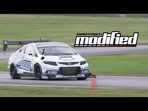 Gridlife 2017 Time-Attack Challenge: Turbo K24 Civic Si vs Enjuku LS3 350Z – Modified Ep. 1