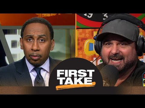 First Take debates Dan Le Batard  on Michael Jordan's Bulls vs  Steph Curry's Warriors  ESPN
