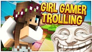 TROLLING GIRL GAMER V3 (Minecraft Trolling)
