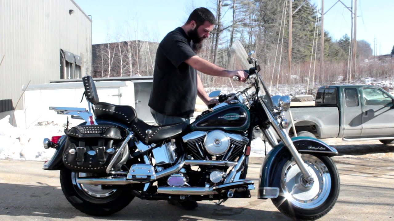 maxresdefault 1996 harley davidson flstc heritage softail classic youtube  at panicattacktreatment.co