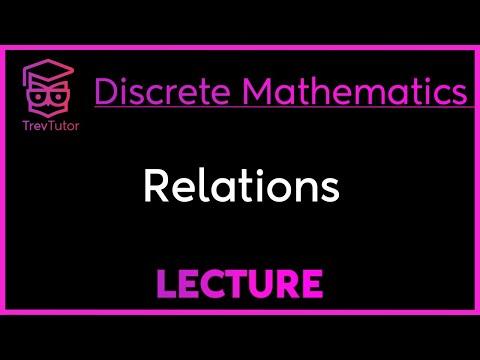 [Discrete Math 1] Relations
