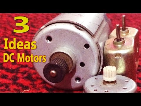 Thumbnail: 3 Awesome & Useful Ideas with DC Motors - Compilation - DIY Homemade useful machines with dc motors