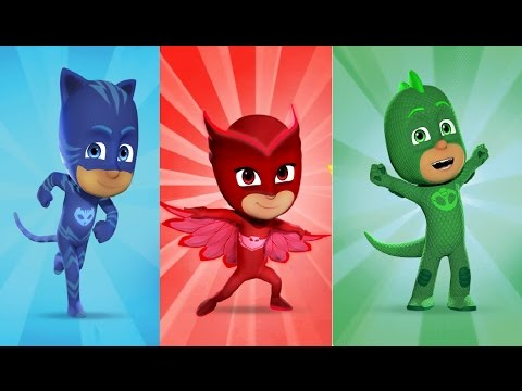 Wrong Mask PJ Masks Gekko Catboy Learn Colors for Kids