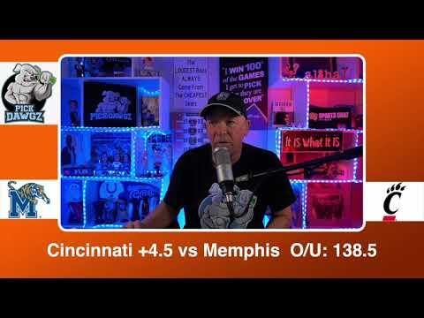 Cincinnati vs Memphis 2/28/21 Free College Basketball Pick and Prediction CBB Betting Tips