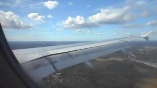 フィンエアーでヘルシンキ・ヴァンター国際空港に着陸