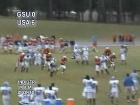 Mario Johnson #3, College Football Highlight, Georgia State