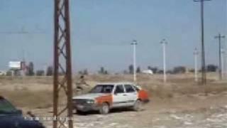 Подрыв противотанковой мины гранатой(Подрыв противотанковой мины гранатой., 2009-01-21T10:25:23.000Z)