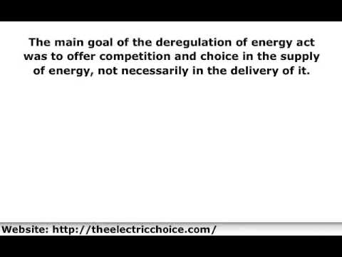 Maryland Deregulation | Maryland Deregulation of Electricity Is Good For Consumers in Baltimore