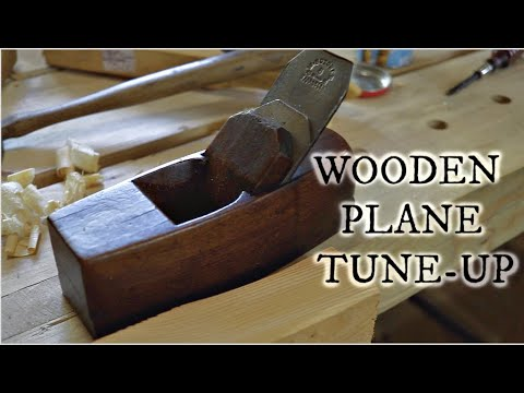 Restoring a Wooden Hand Plane