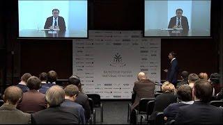 Американский экономист Нуриэль Рубини на конференции 20 ноября 2014