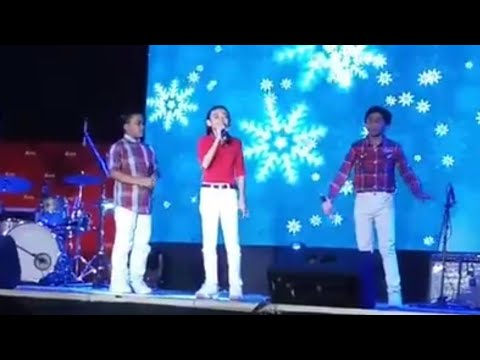Silent Night - TNT Boys at the Araneta Giant Christmas Tree Lighting 16Nov2018
