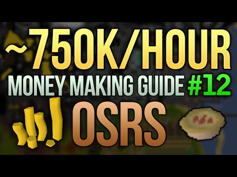 [OSRS] ~750K/Hour Money Making Guide (High Cooking Method) (#12)