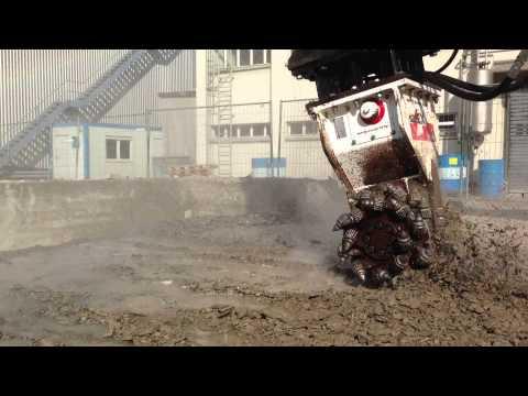 SIMEX TF 800 - Felsfräse - Hydremag AG Schweiz