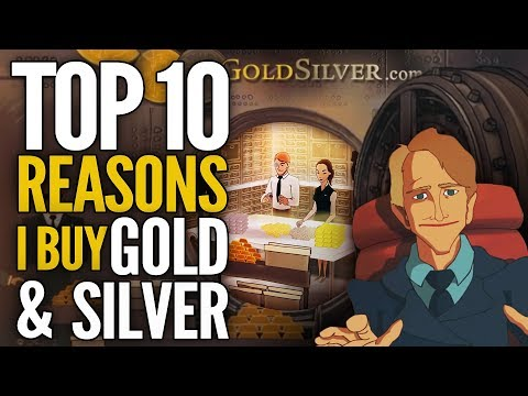 Top 10 Reasons I Buy Gold & Silver - Mike Maloney