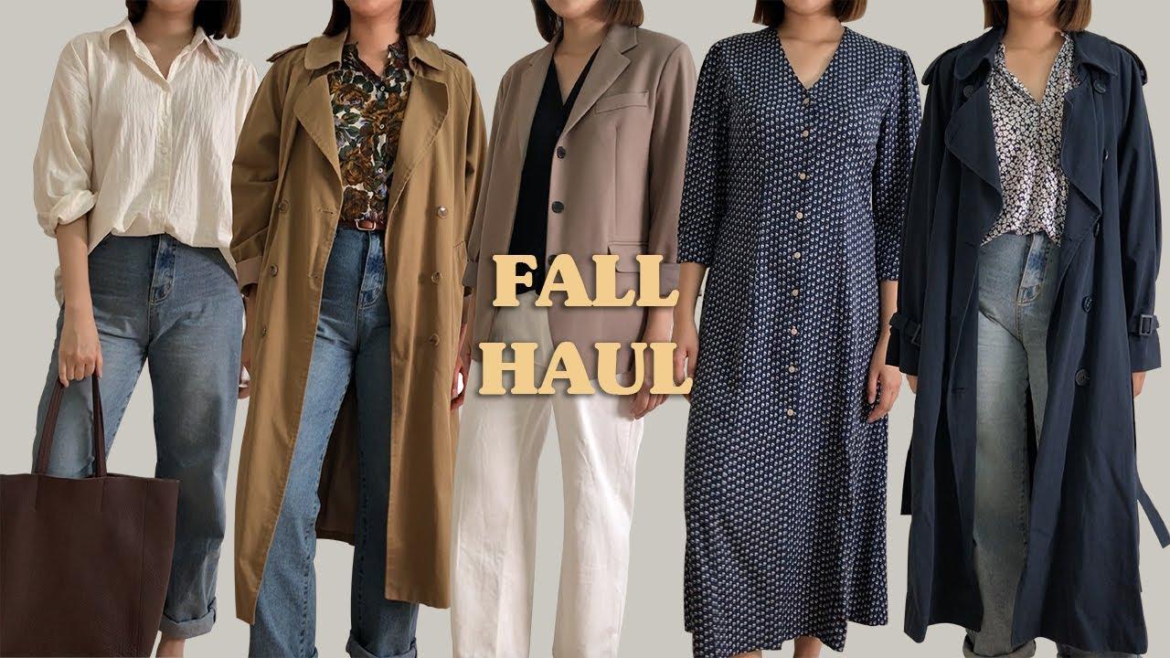 #FALL OUTFITS LOOKBOOK & HAUL 가을옷 룩북&하울 좋은건 같이입어요! JIENN 4