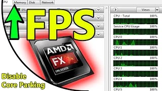 Video [FIX!] How to unpark cores for AMD (Better FPS) download MP3, 3GP, MP4, WEBM, AVI, FLV Juni 2018