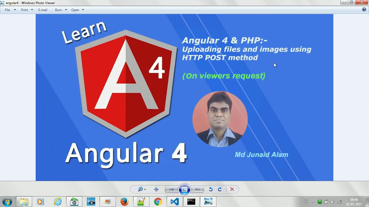 Angular 4 Uploading files and images using HTTP POST method #19