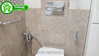 Видеоотчет ванная комната Комарова6