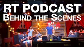 One of Sally Le Page's most viewed videos: Behind the Scenes of the RT Podcast