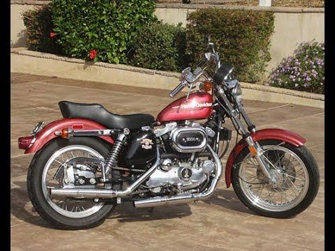 1976 Harley Davidson XLH Sportster - YouTube