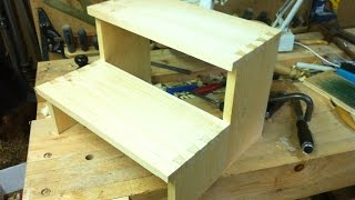 Make a Dovetail Stepstool   Part 2