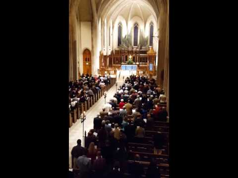 O Come, O Come, Emanuel for the Recessional Hymn at St. Philip's Cathedral