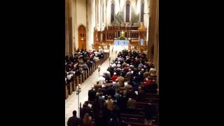 o come o come emanuel for the recessional hymn at st philip s cathedral